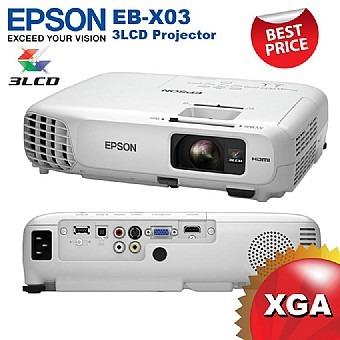 מקרן HD מבית EPSON EB-X03