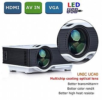 מקרן LED עצמה 800 לומנס UNIC UC40