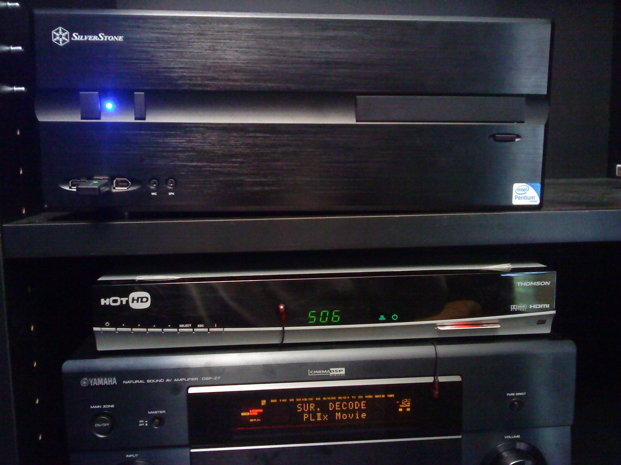 רסיבר ימאהה ומחשב קולנוע Silverstone
