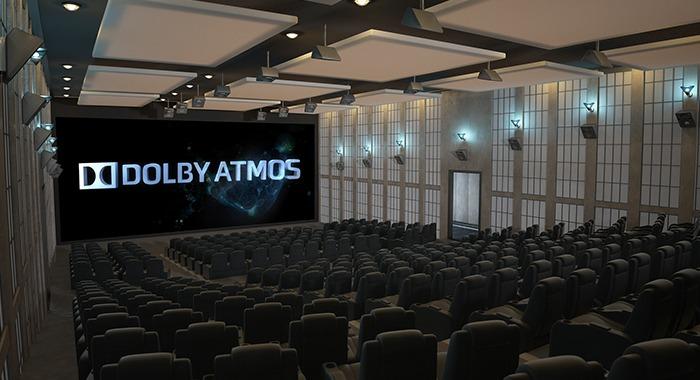 קולנוע ביתי - Dolby Atmos