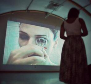 אירוע הקרנה בתערוכה