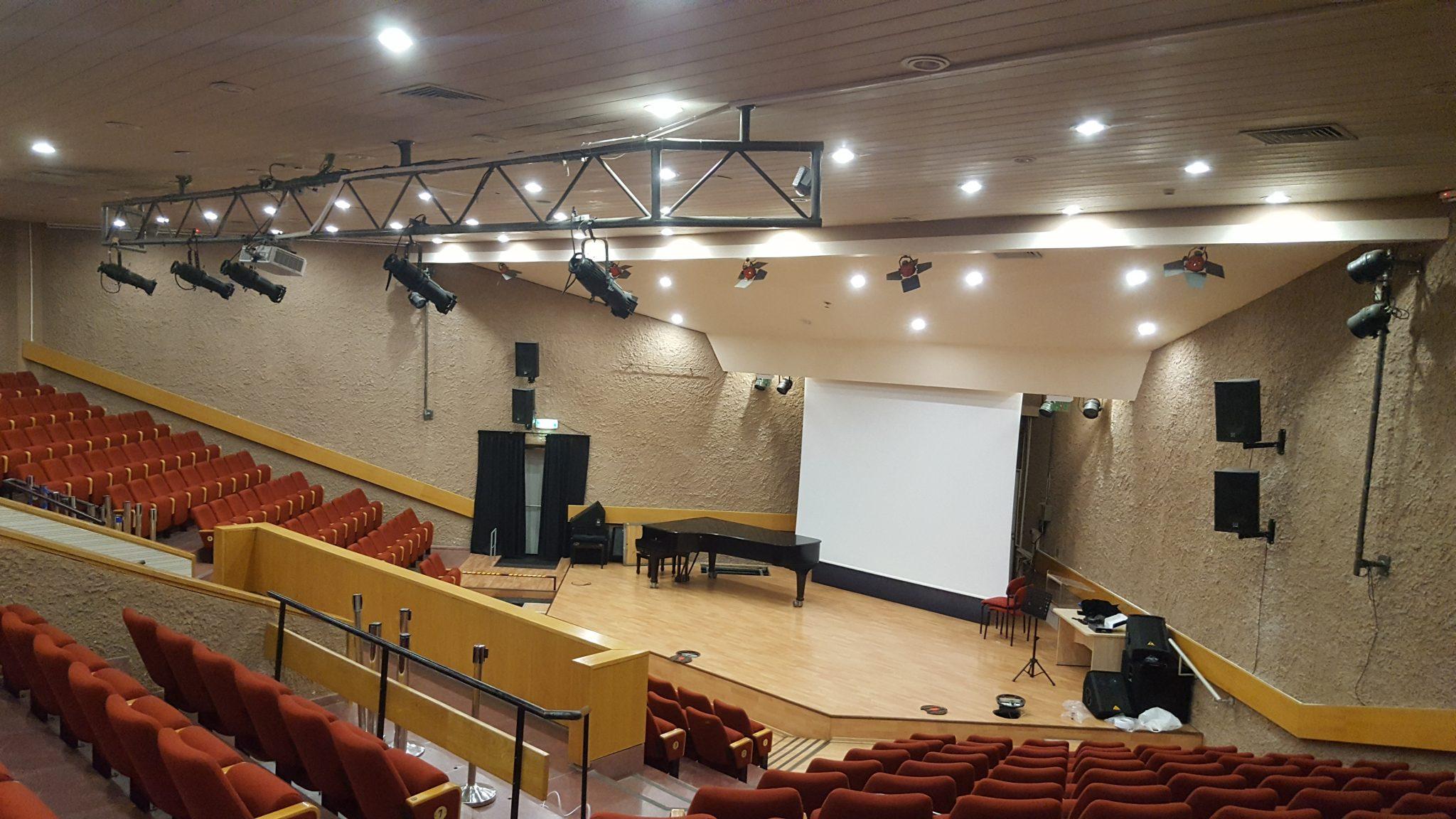 החלפת הגברה מכללת לוינסקי תל אביב
